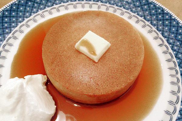 ムレスナティーハウスのホットケーキ