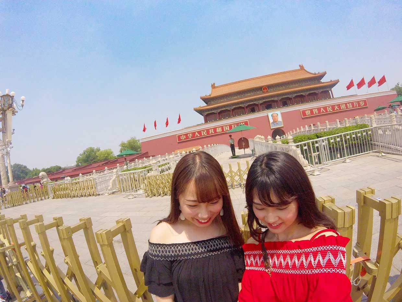 竹内友海中国留学中
