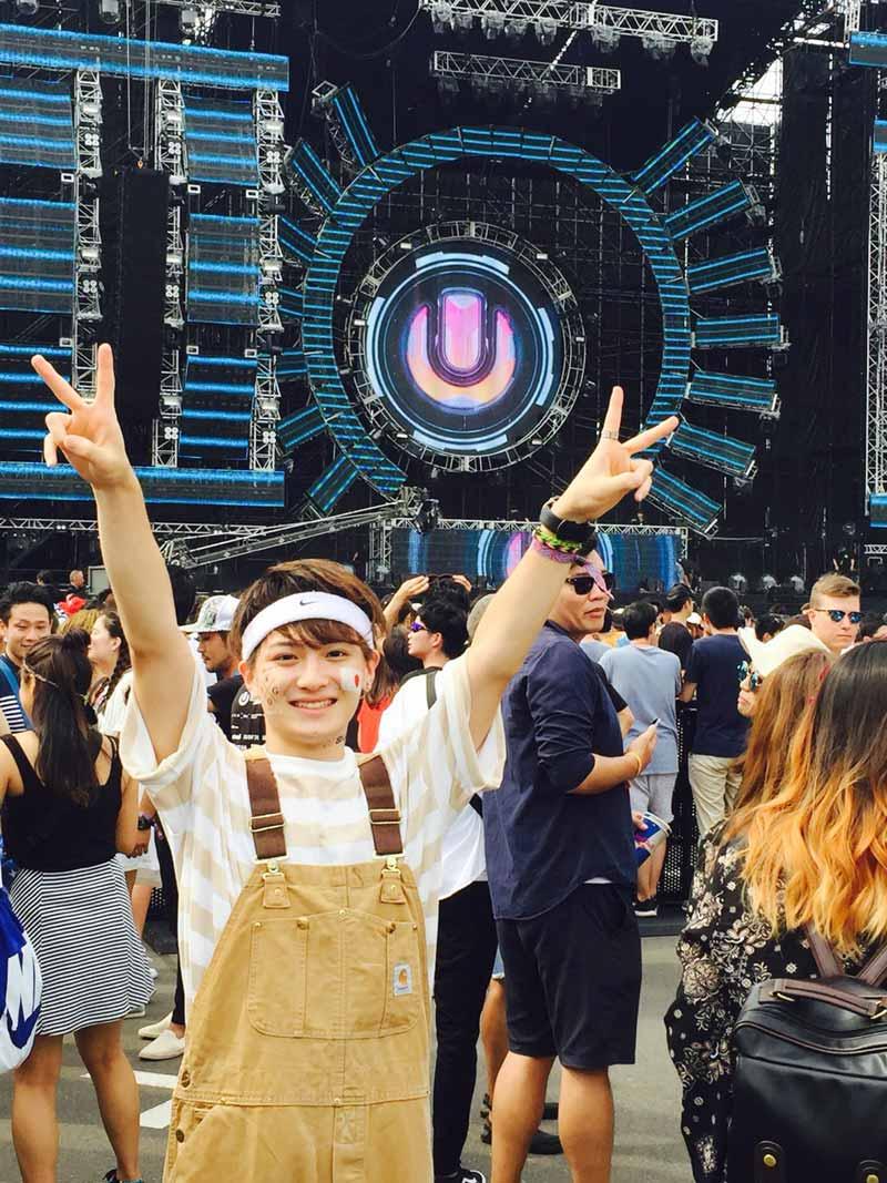 EDMのフェス「ULTRA JAPAN」にて