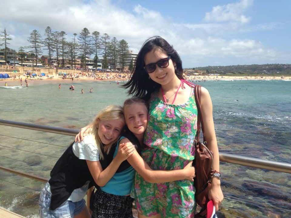 オーストラリア留学中の加藤結衣1