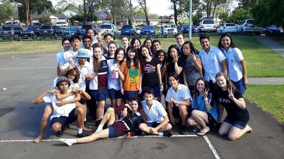 オーストラリア留学中の加藤結衣2