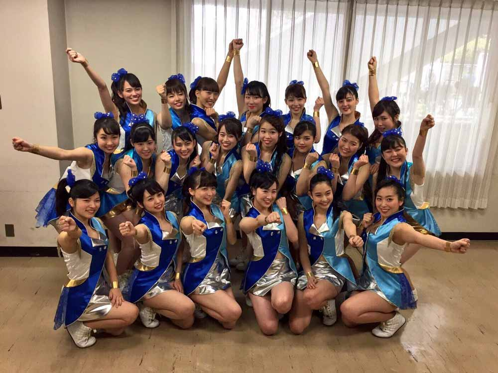 KINDAI GIRLS集合写真