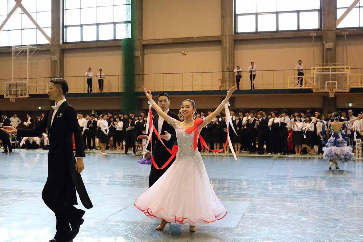 競技ダンス大会出場中の植木菜央1