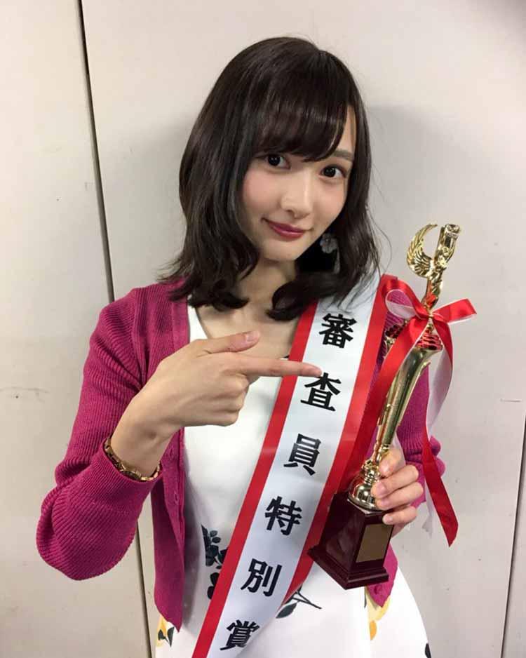 Miss of Missで審査員特別賞を受賞した石黒菖