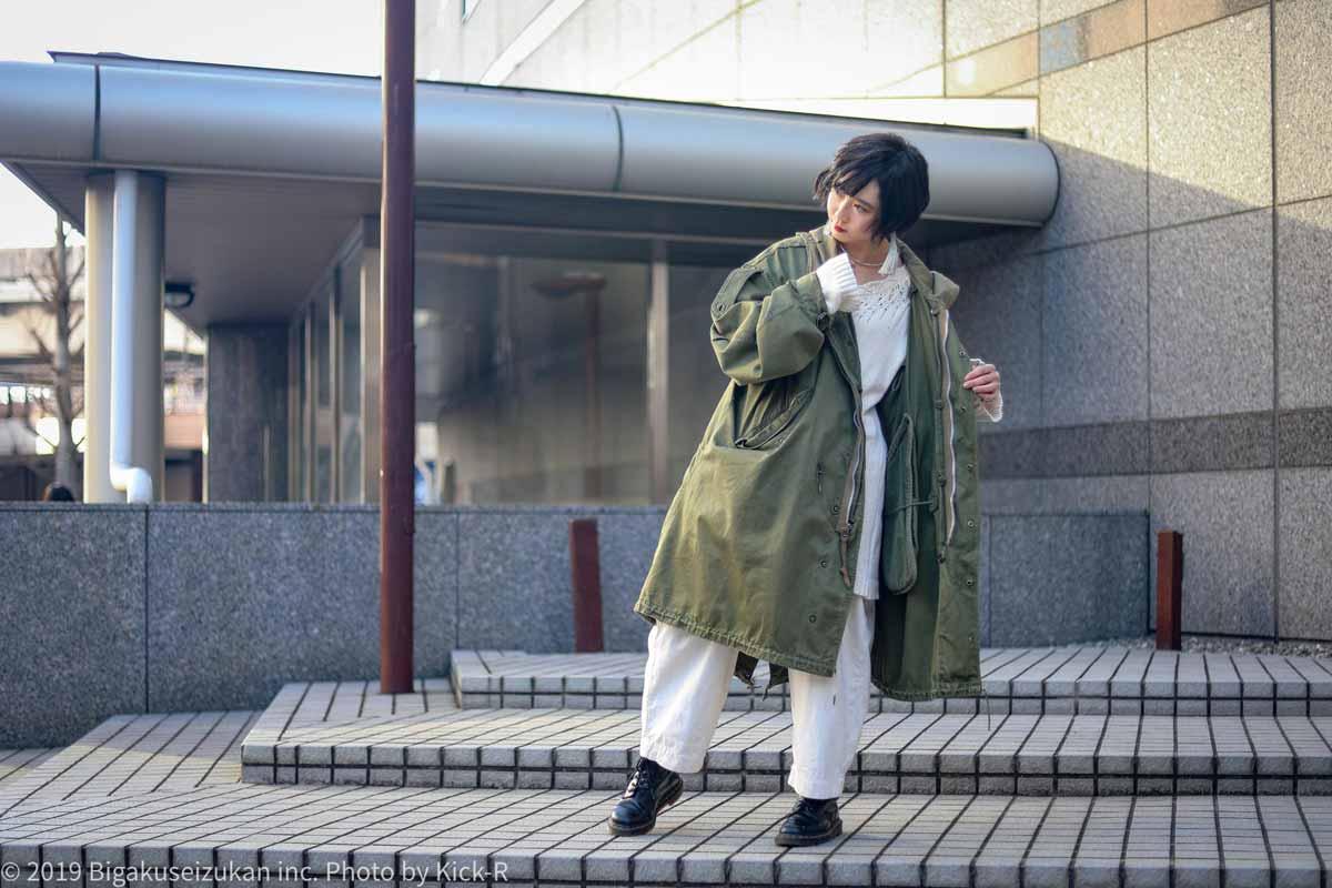 阿部楓今日のファッション