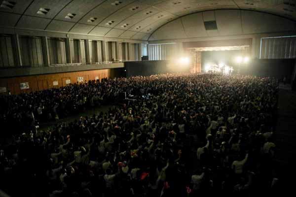 関大の学園祭ライブ