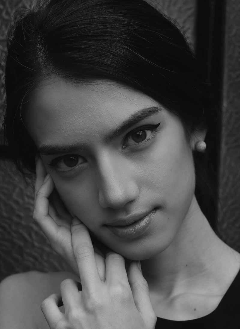 サラさんイタリア時代のモデル写真